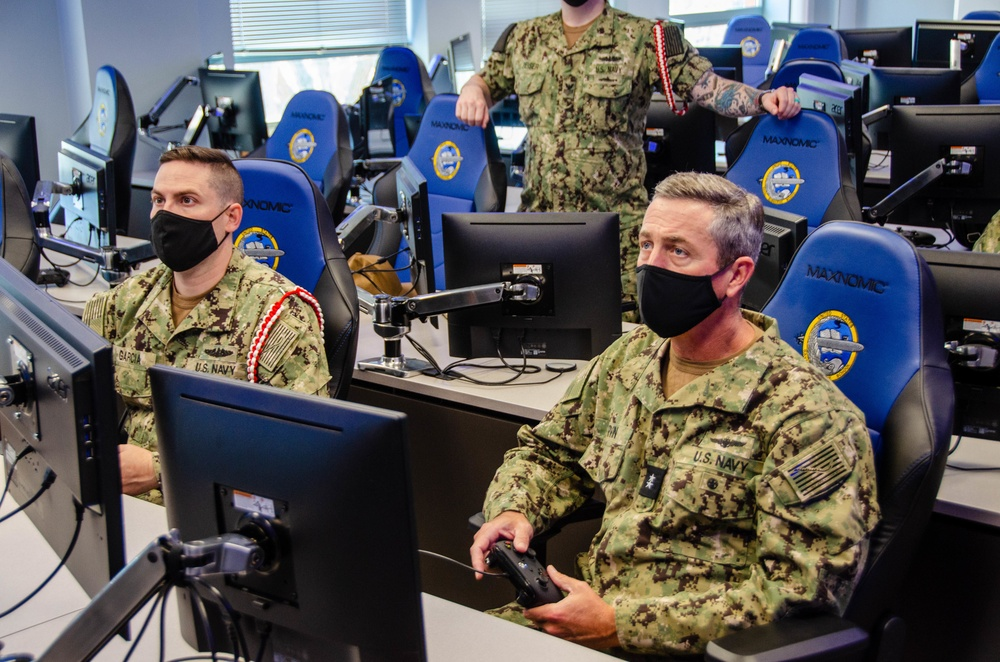 Commander, Naval Education and Training Command Visits Naval Submarine School