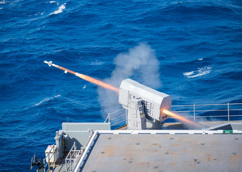 CSSQT Rolling Airframe Missile