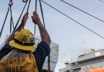 USS Russell (DDG 59) Conducts Routine Operations
