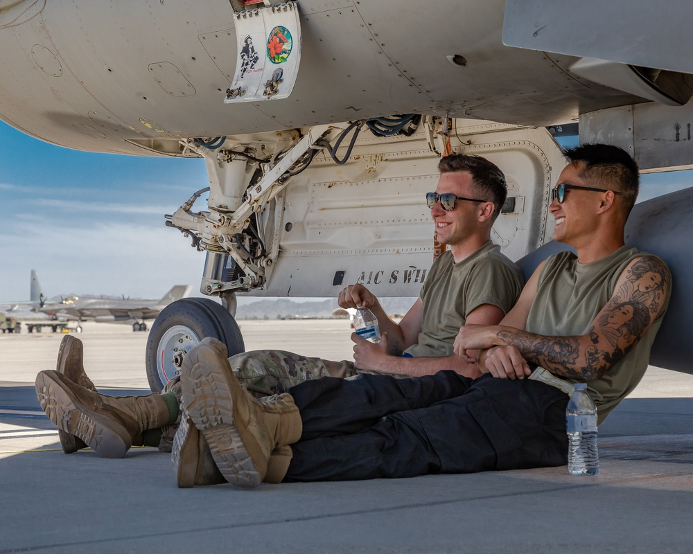 Red Tails train with Marines in Yuma