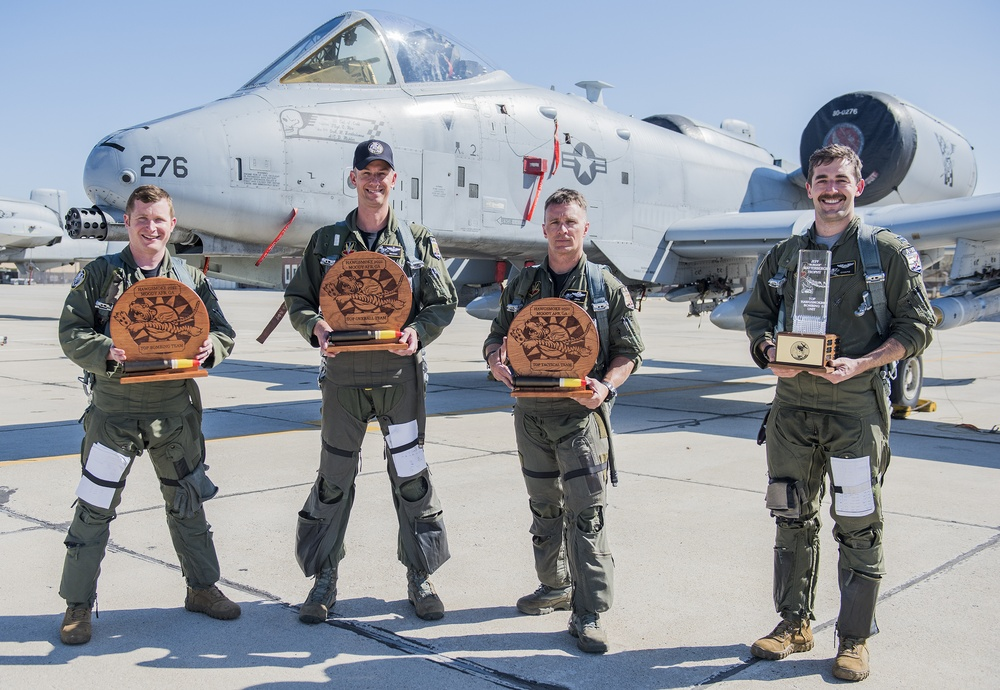 Idaho National Guard recognized as the top pilot team at Hawgsmoke 2021