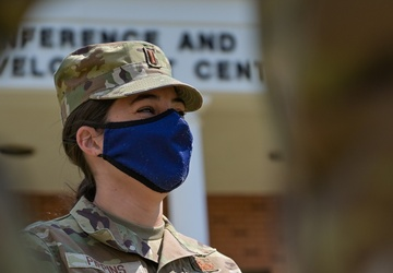 Maj. Gen. Neely Visits Service Members Working Vaccination Sites