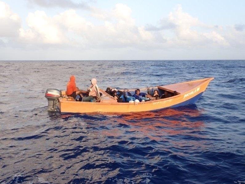 Coast Guard repatriates 18 migrants to the Dominican Republic, following interdiction of migrant voyage in the Mona Passage