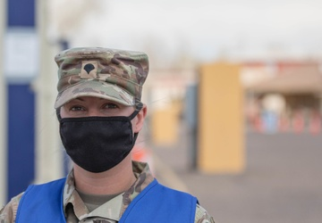 2nd Stryker Brigade Combat Team, 4th Infantry Division Soldiers are happy to support the Pueblo Community