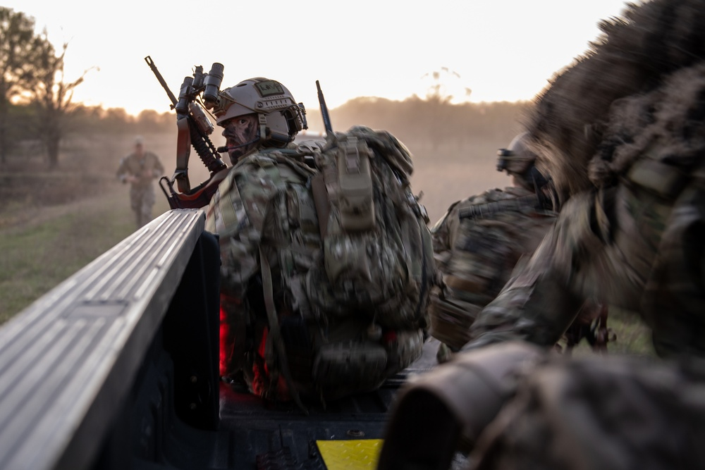 137th SOW participates in Ability to Survive and Operate (ATSO) exercise at Razorback Range, Ark.