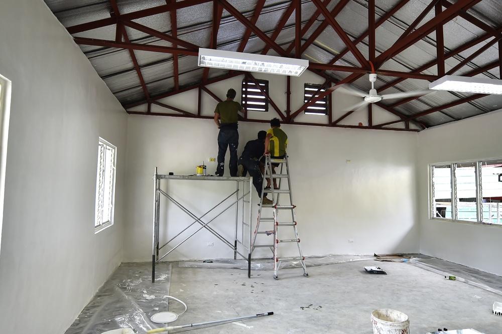 Balikatan 21: USMC-PA put final touches on daycare center