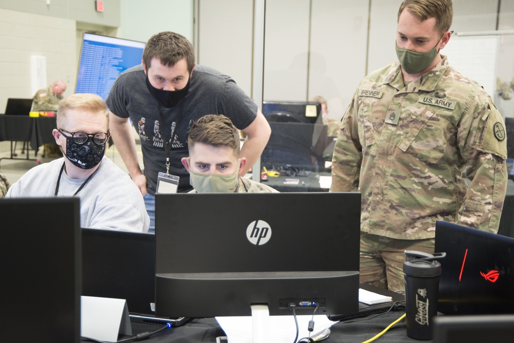 West Virginia National Guard, DISA participates in cybersecurity exercise Locked Shields 2021