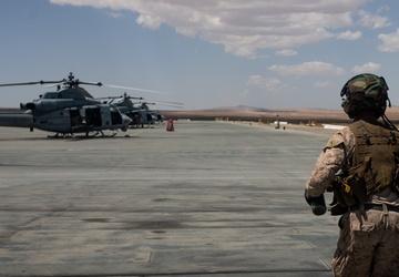 Marines fire powerful M134 Minigun in close air support training
