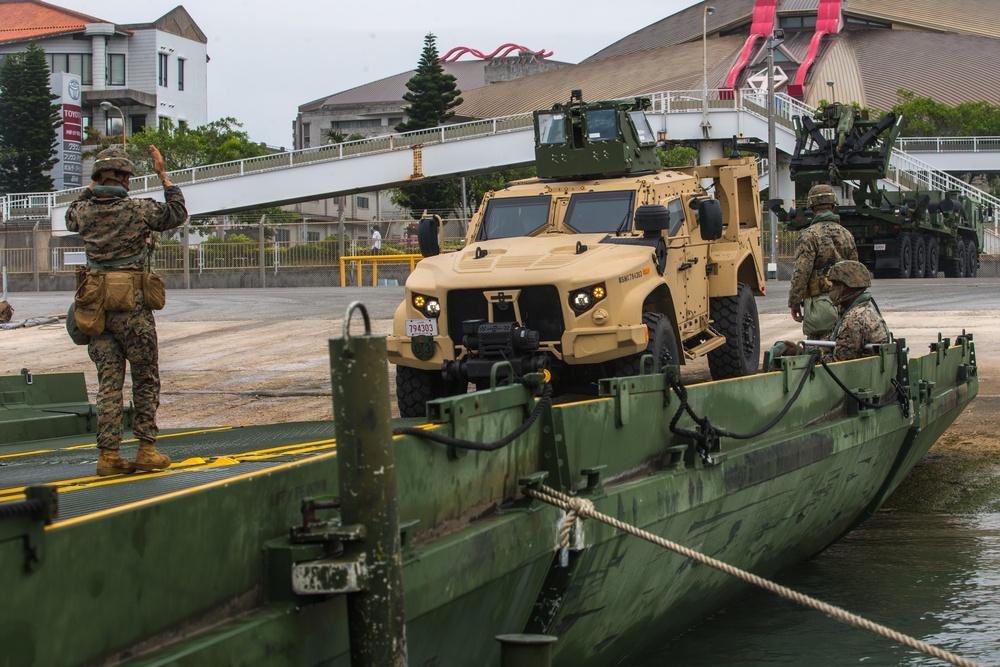 U.S. Marines participate in Pacific Pioneer