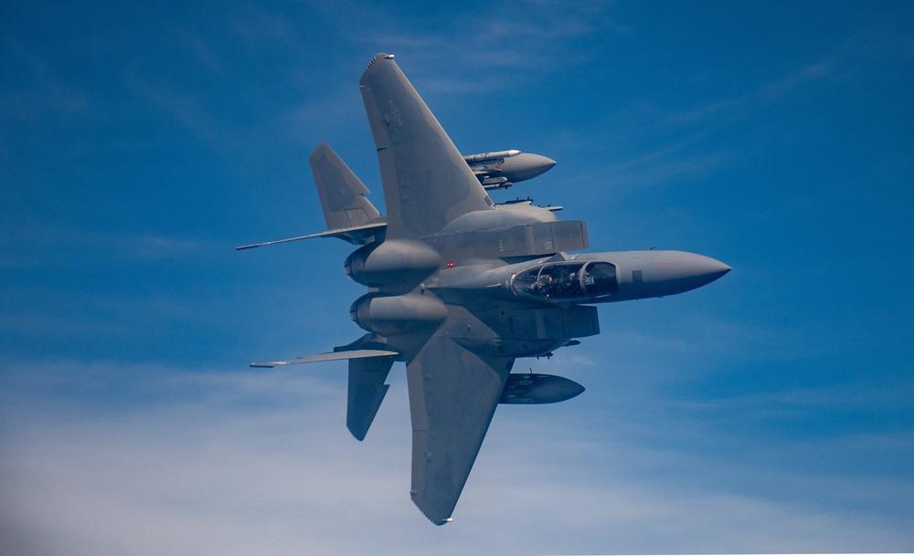 F-15EX takes flight