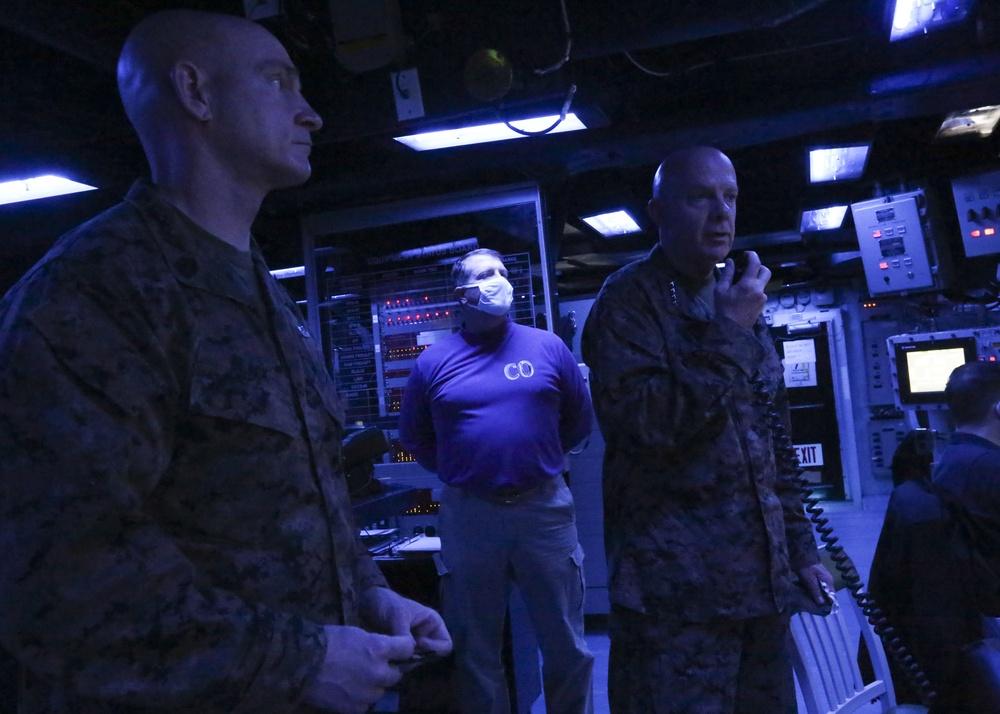 38th CMC Visits USS Makin Island