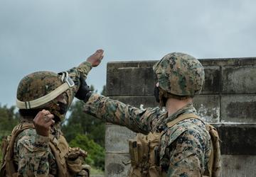 Frag out!   TRT Marines conduct 3d LSB M67 Grenade Range