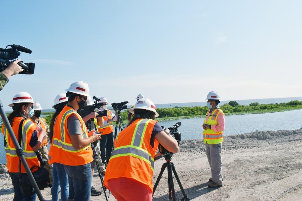 Jacksonville District hosts media day