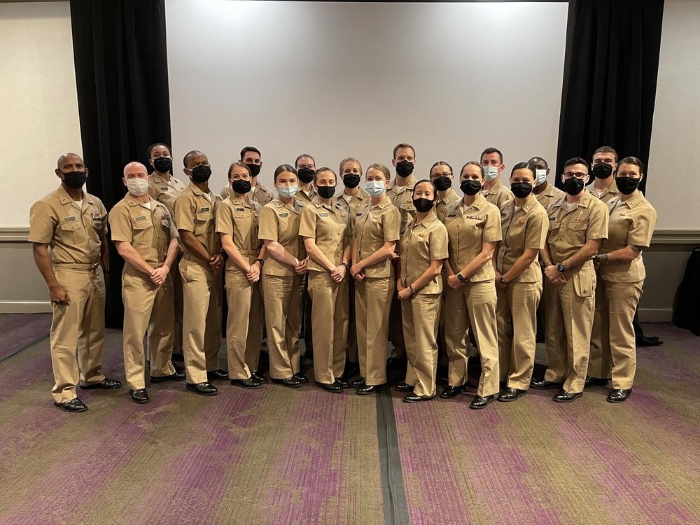 Navy Medicine 101 2021-1 Class Graduation