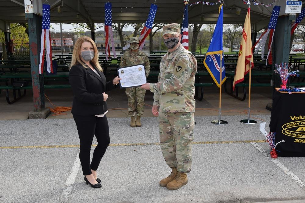 Rock Island Arsenal hosts Volunteer Recognition Ceremony during National Volunteer Appreciation Week