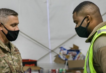 U.S. Air Force North Command Chief visits Gary CVC