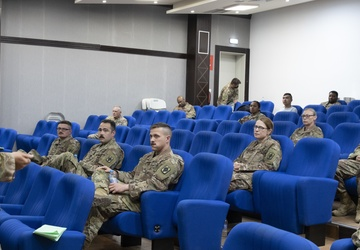 Deployed Chiefs Unite, Inspire Future Warrant Officers