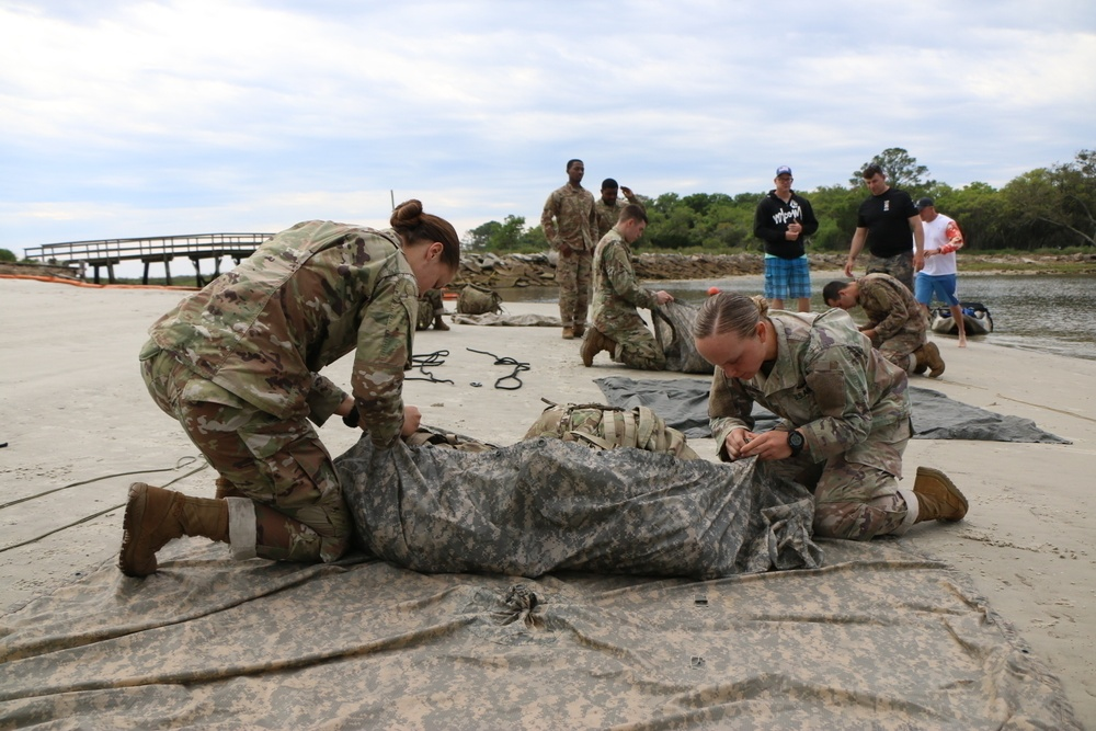 First all-female sapper team to compete trains up