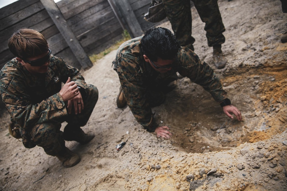 24th MEU conducts an EOD range in Spain
