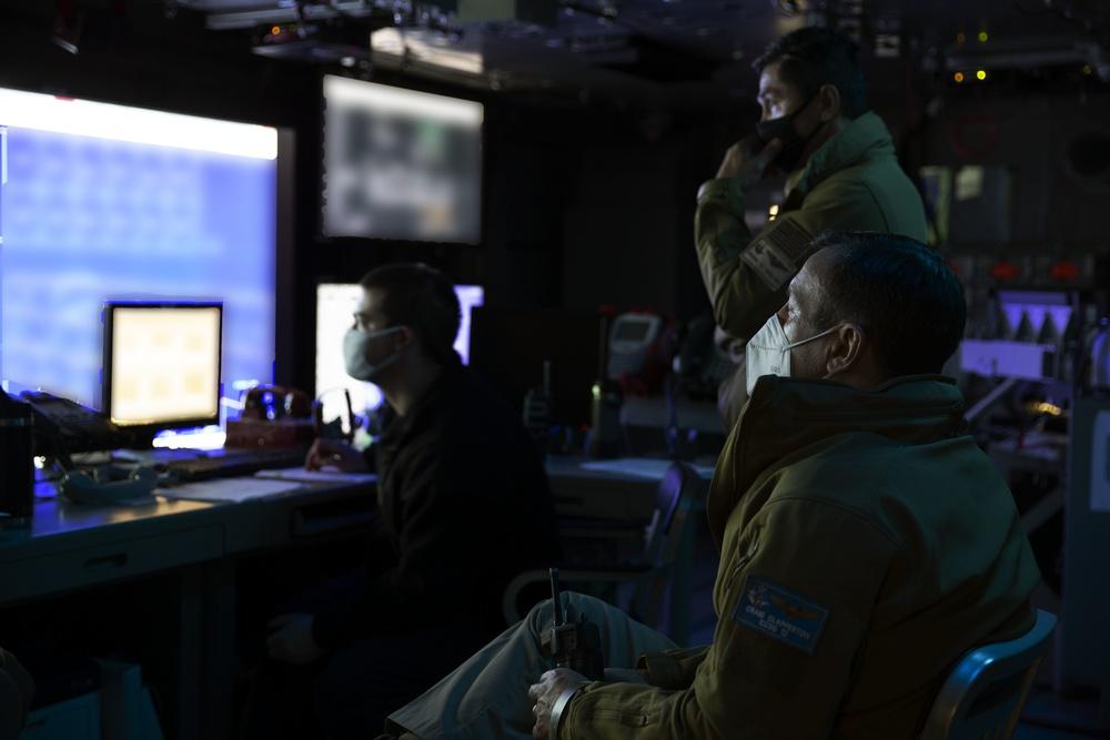 Ford Strike Group Air Defense Exercise