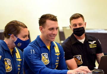 Blue Angels conduct Virtual Outreach in South Texas