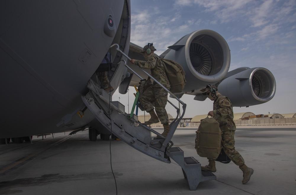 C-17s support Afghanistan drawdown