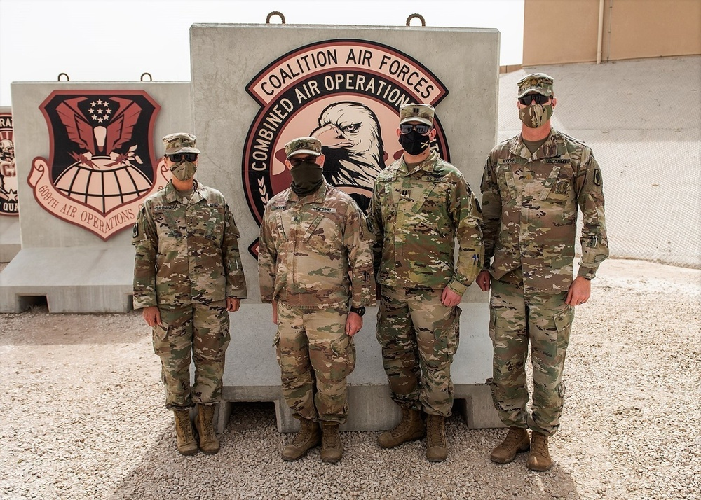 Task Force Spartan participates in missile defense exercise
