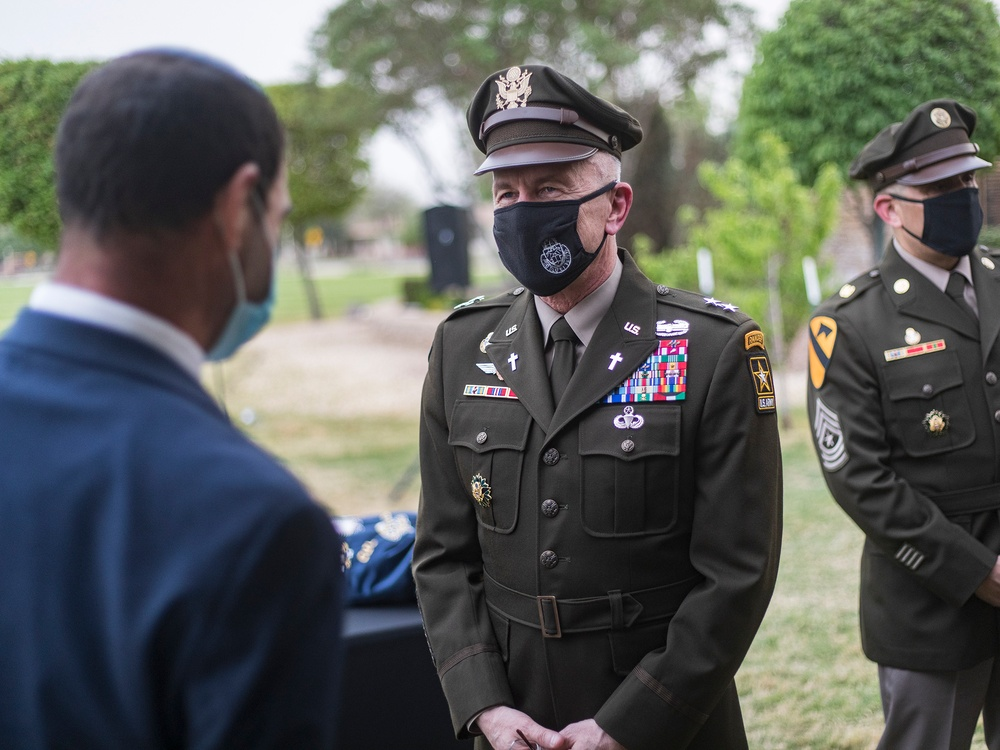 Army's top chaplain helps celebrate 'revival of Jewish life' at Bliss