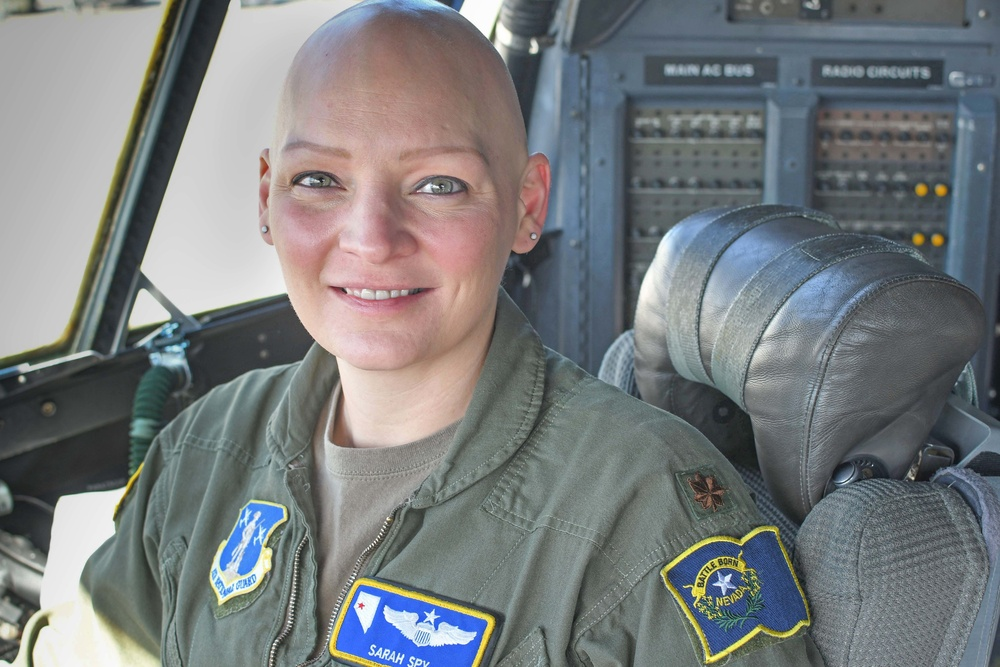 I Spy a trailblazer: Nevada Air Guard's first female instructor pilot