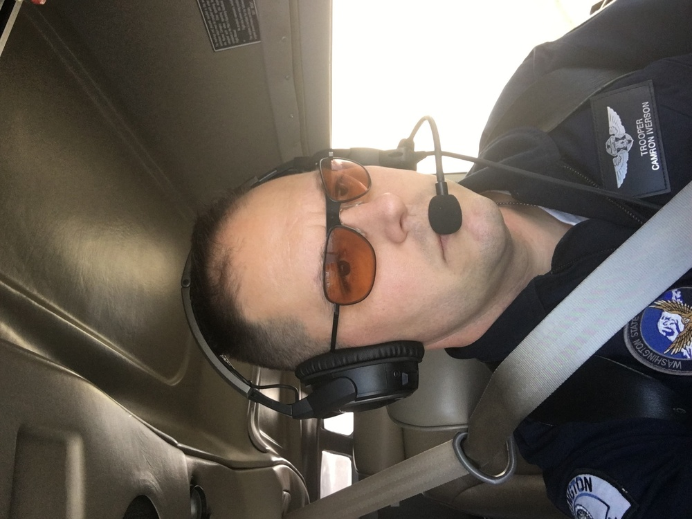 Washington State Patrol pilots successfully test special laser eye protection developed at Wright-Patterson Lab