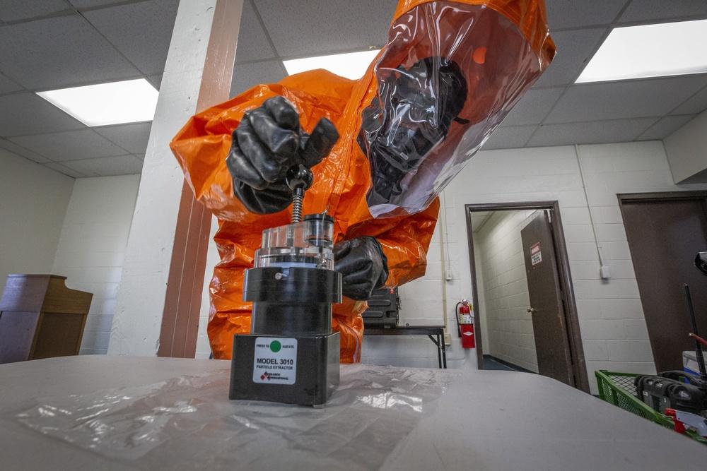 21st WMD-CST passes training proficiency evaluation
