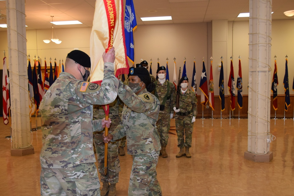 Scott relinquishes responsibility as USAG RIA command sergeant major