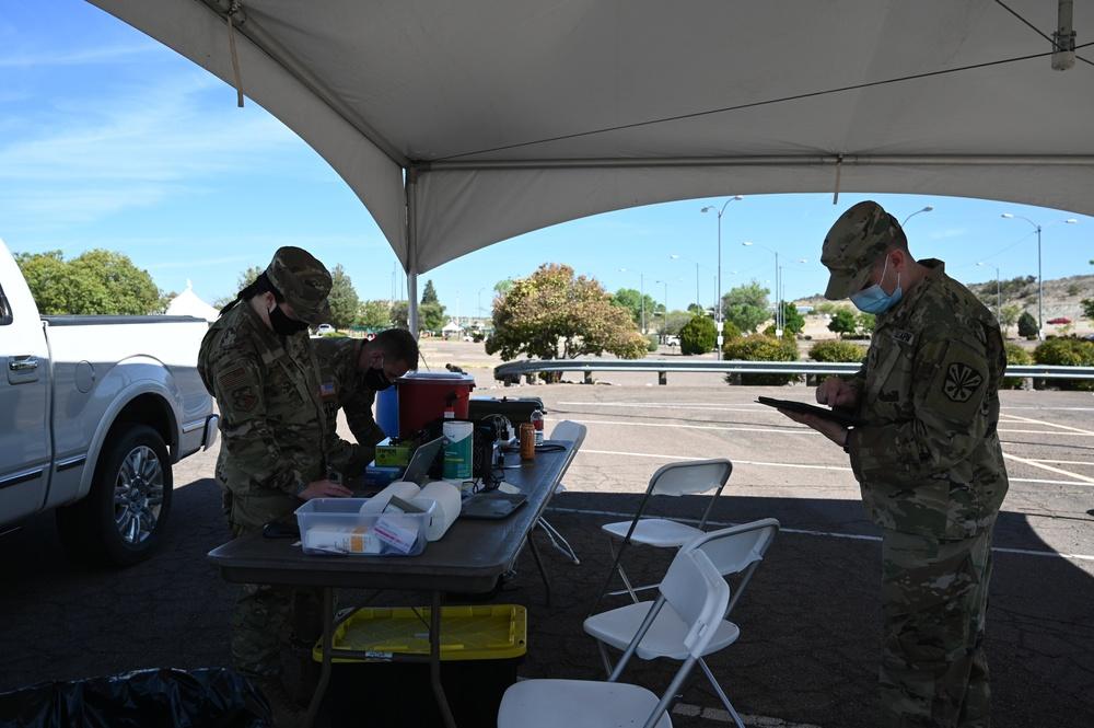 AZ National Guard helps distribute COVID-19 vaccine in Yavapai County