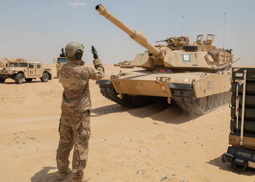 1-194th Armor Regiment Prepares for Operations Across CENTCOM
