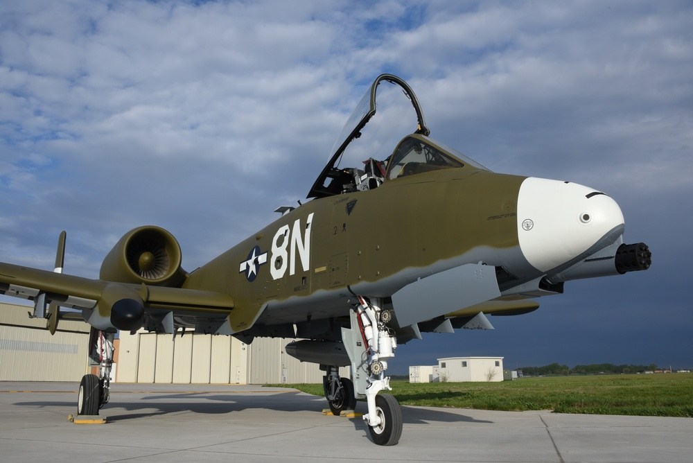 124th A-10 heritage paint