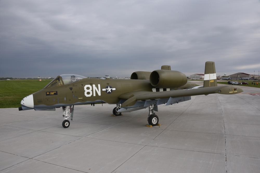 A-10 heritage paint 124th FW