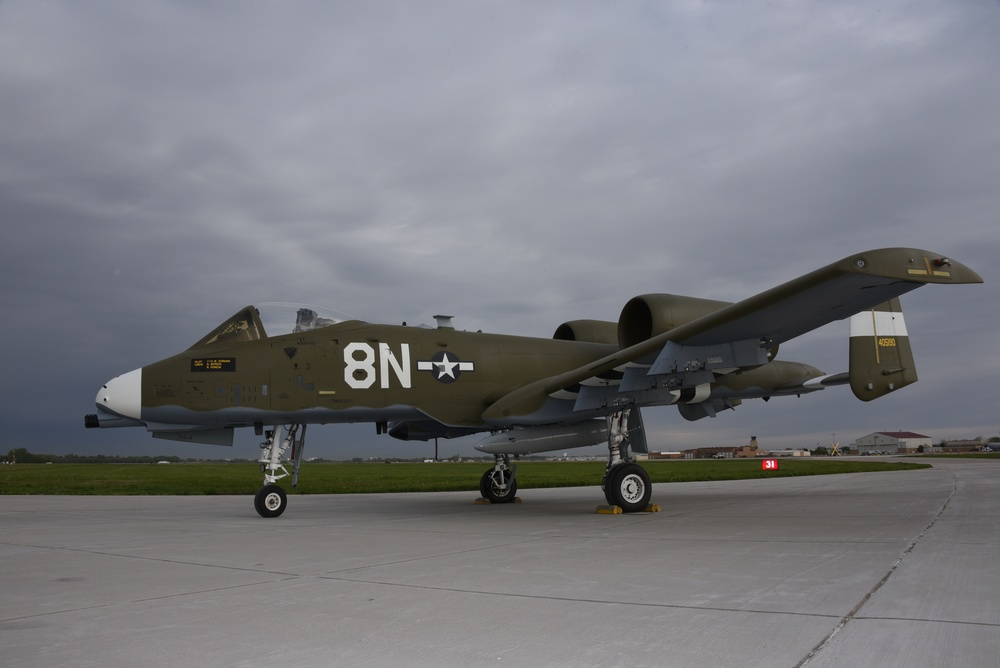 A-10 heritage paint 124th Fighter Wing