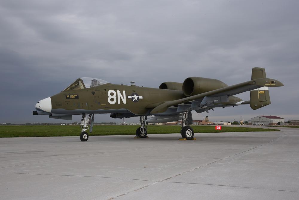 Idaho A-10 heritage paint