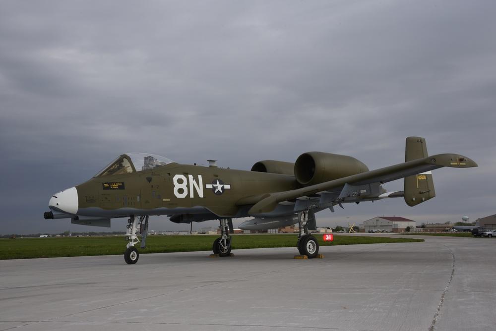 Idaho ANG 124th A-10 heritage paint