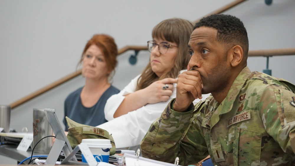 The 188th Wing hosted the Federal Emergency Management Agency (FEMA), Basic Public Information Officer (PIO) course here April 29, 2021.