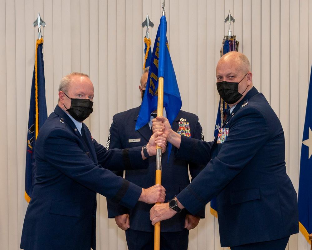 171st ARW Change of Command