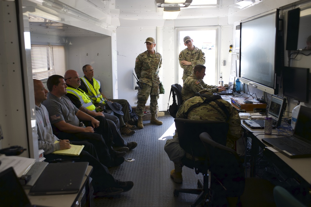 63rd Civil Support Team trains with City of Altus