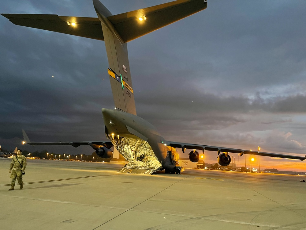 82ND AIRBORNE DIVISION DEPARTS FOR SWIFT RESPONSE