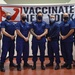 U.S. Coast Guard Reserve members recognized for vaccination efforts at York College
