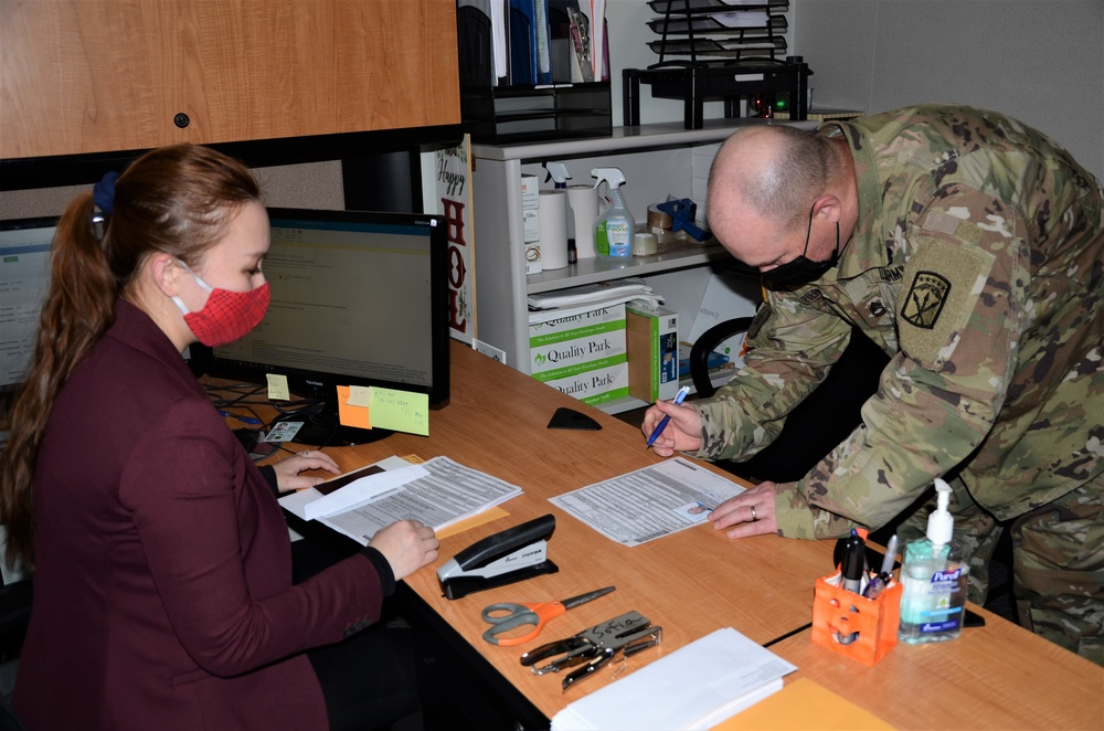 Naturalized citizen helps service members using experience and empathy