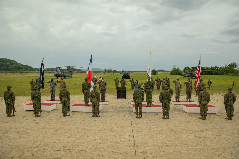 Jeanne D'Arc 21   US, Japanese, French and Australian military commence exercise Jeanne D'Arc 21