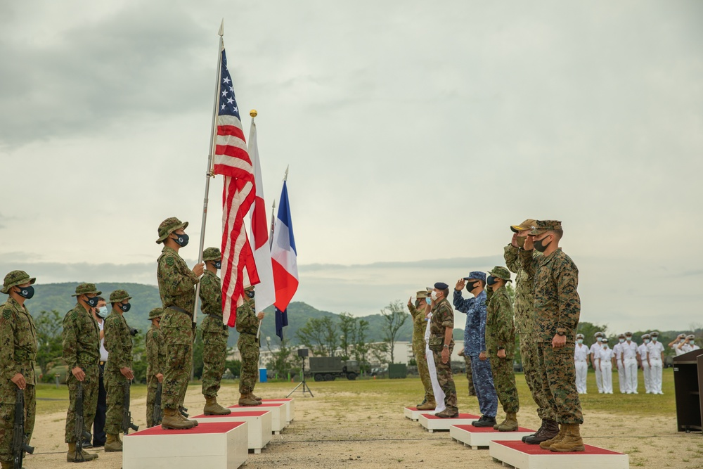 Jeanne D'Arc 21 | US, Japanese, French and Australian military commence exercise Jeanne D'Arc 21