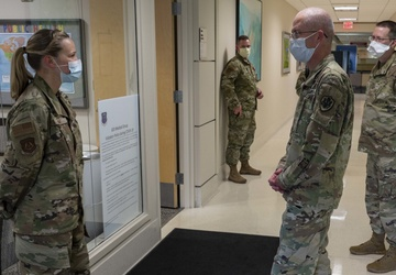 DHA director visits 633rd Medical Group
