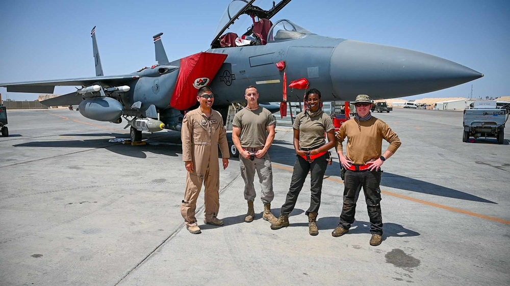 """F-15E Strike Eagle """"WIZZO"""" reflects on Asian American Pacific Islander Heritage Month"""