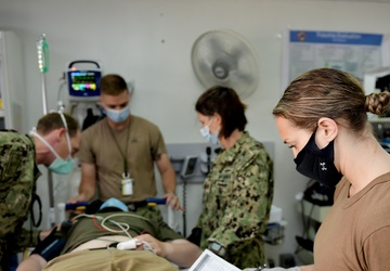 Earthquake exercise tests East African base's first responders